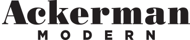 Ackerman Modern Retina Logo