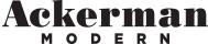 Ackerman Modern Logo